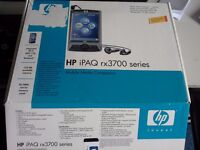 HP Invent iPAQ rx3715 Handheld Mobile Media Companion with WLAN & Camera