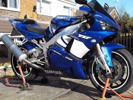 2002 Yamaha YZF R1 Low miles px and delivery possible