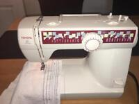 Toyota Home Sewing Machine with Carry/Storage Bag