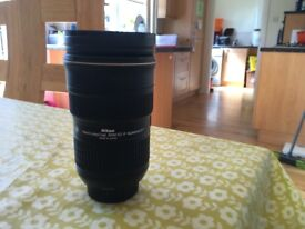 Nikon 24-70 f/2.8 G Ed Lens