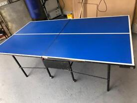 Table tennis table 3/4 size