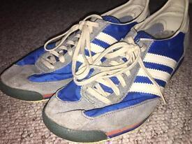 size 9 Adidas sl72 vintage trainer mens