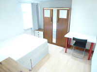 BRIGHT SINGLE ROOM WITH DOUBLE BED TO RENT IN NORTHFIELD/ WEST EALING - ZONE 3