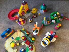 Fisher Price Little People Job Lot