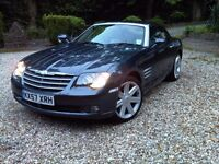 Lady Owner. Immaculate Condition Chrysler Crossfire Dark Grey. Low Mileage!!