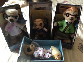 4 meerkats