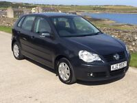 volkswagen polo automatic 50843 genuine miles