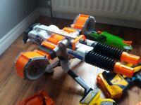 Selection of Nerf Guns .