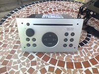 vauxhall corsa c cd player silver , and cage