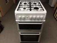 Hotpoint HW170 GIW White Gas Oven