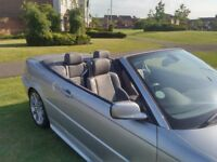 BMW 330ci M SPORT CONVERTIBLE GREAT CONDITION MOT 6/19 LEATHER, MAY SWAP or CHEAP PART EXCHANGE