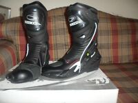 RICHA TRACER WATERPROOF MOTORCYCLE BOOTS, NEW