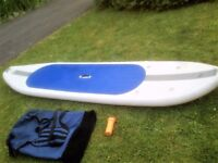 Inflatable Stand up Paddle board with carry bag and paddle