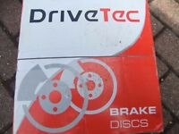 VAUXHALL VECTRA B 1995 - 2000 1.6 VENTILATED FRONT DISCS BRAND NEW