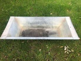 Galvanised Trough - Ideal water feature