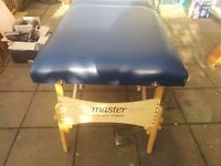 Used but very comfy massage bench