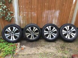 KIA ALLOY WHEELS WITH TYRES
