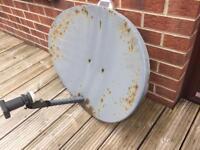 Used sky dish