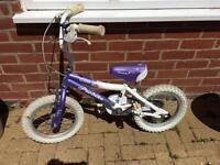 """Girls 14"""" pro bike. Excellent condition. Collect Wymondham."""