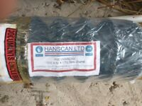 Green pvc coated Chainlink roll 120cm high 25m long brand new, still in wrapper