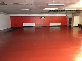 Office/Storage/Garage and industrial space to let, between 200-12000 PCM.
