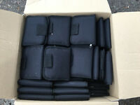 Job Lot of 100 Padded Black Wallets (car boot sale) – BRAND NEW