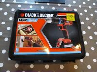 Li-ion 14.4v Black & Decker Drill (NEW SEALED IN BOX) Includes 1x battery