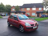 **2004 04 REG RENAULT CLIO EXPRESSION 1.5 DCI DIESEL 5DR MOT £30 YEARLY TAX 100% TOP RUNNER BARGAIN*