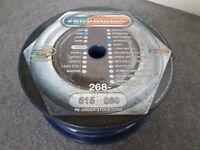 Van Damme Blue Series Studio Grade 2 x 1.5 mm Speaker Cable 268-515-060 100m reel