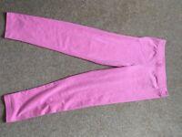 Gap Sparkly Pink age 10-11 Leggings