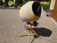 Cement Mixer 'Belle' Minimix 130 Electric.