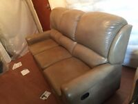 Sherbourne Designer Leather 3+2 Reclining Suites RRP THREE THOUSAND POUNDS
