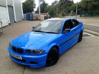 BMW 320 M SPORT AUTOMATIC. PROFESSIONALLY WRAPPED. LONG MOT . LOW MILEAGE. XENONS.SPORTS ALLOYS.LUSH