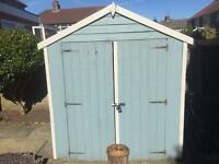 GARDEN SHED 6 X 4 Ft - GOOD CONDITION £95