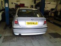 bmw 316ti se compact 2001 1.8 petrol