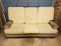 Bespoke made 3 seat sofa