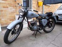BSA Bantam D3 150cc