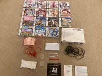 Nintendo DS Lite, 15 games, plus accessories (bundle)