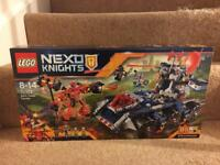 Lego Nexo Knights Axl's Tower Carrier set - Brand new - 70322