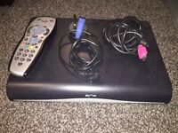 Sky+ HD, remote and cables