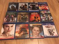 Blu Ray movies bundle - 12 movies