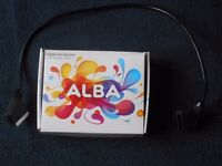 ALBA Digital Set top box with single scart Freeview