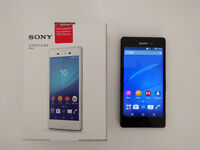 Sony Xperia M4 Aqua, 8GB + 32GB UHS-1 SD, unlocked, boxed with accessories and receipt