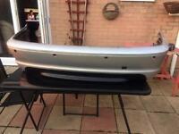BMW 3 series (e46) rear bumper