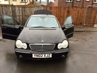 2002 Mercedes Benz C Class 2.0 £800 offers or swaps