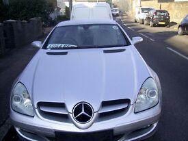 MERCEDES 350 SLK AUTOMATIC YEAR 2004 - MILEAGE 114,000