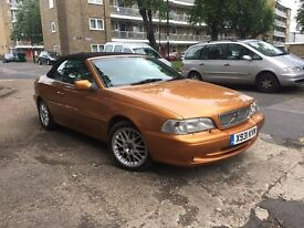 Volvo C70 2.0t welcome swap,convertible, 84 000 LOW MILAGE