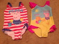 Girls swimwear 18-24 mths and 2 years
