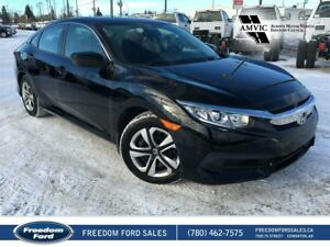 2016 Honda Civic Sedan Heated Seats, Backup Camera
