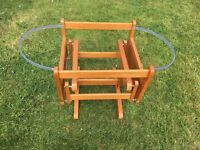 Moses basket stand (mothercare)